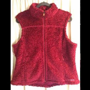 L. L. Bean Dark Red Vest